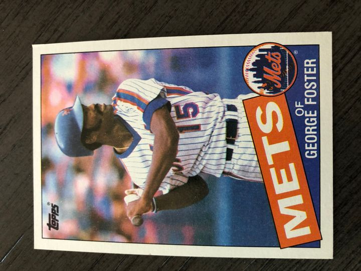 1985 TOPPS GEORGE FOSTER 170 Item Image